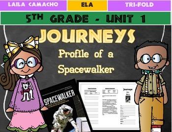 Journeys Grade 5 Trifold (Profile of a Spacewalker)