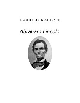 Profiles of Resilience: Abraham Lincoln