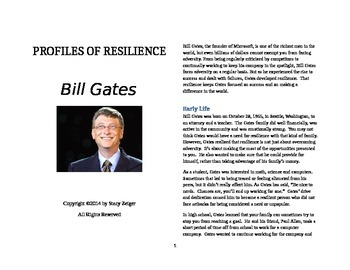 Profiles of Resilience: Bill Gates