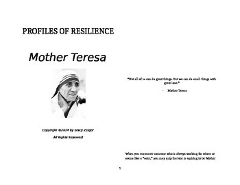 Profiles of Resilience: Mother Teresa