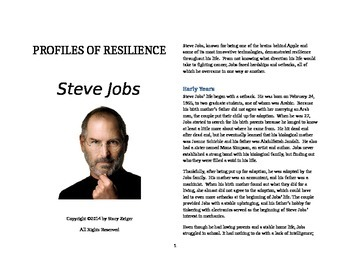 Profiles of Resilience: Steve Jobs