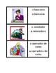 Profissões (Professions in Portuguese) Concentration game