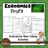 Profit - Economics Interactive Note-taking Activities