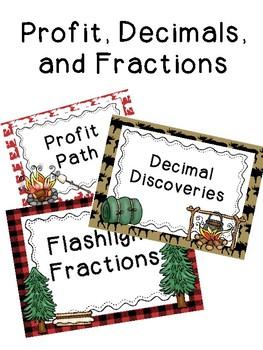 Profit, Fractions, and Decimals
