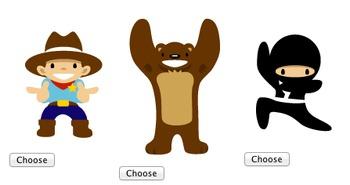 Program Ninja-Cowboy-Bear in JavaScript