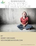 Program Plans for Solving Behaviour