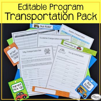Program Transportation Authorization Form