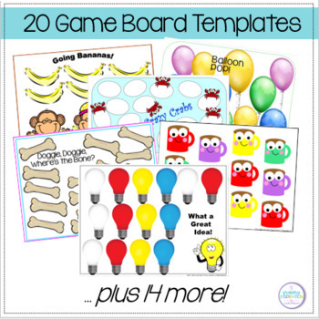Blank Game Boards with Suggestions for Your Gr.2-3 Curriculum