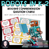 Robot Activities- Comprehension Question Cards for Blue Bot and Bee Bot