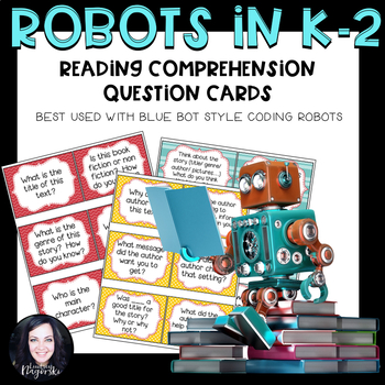 Robot Activities- Comprehension Question Cards