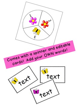 Springtime Board Game {Editable!}