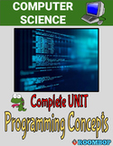 Programming Concepts Review Unit - Computer Science
