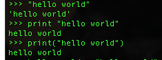 "Programming ""Hello World"" in Python"