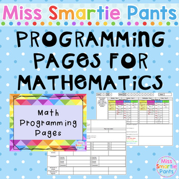 Programming Pages for Mathematics