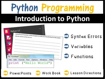 Python Programming Coding - Introduction to Python