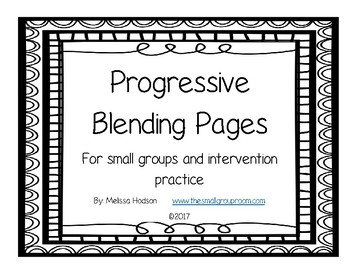Progresive Blending Pages