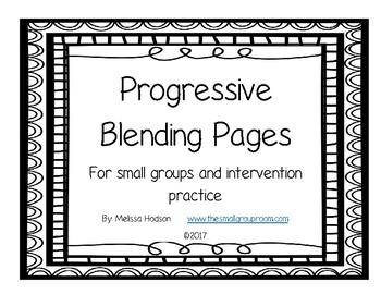 Progresive Blending Pages
