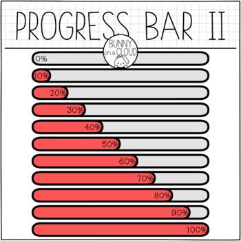 Progress Bar II by Bunny On A Cloud