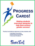 Progress Cards Book gives specific behaviors to practice f
