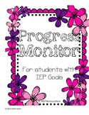 IEP Progress Monitor Data Collection Sheets
