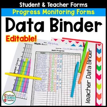 Data Binder For Progress Monitoring - EDITABLE!