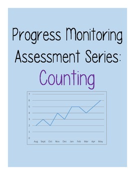 Progress Monitoring Assessment (RTI Probe) for Counting - Set of 15