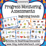Progress Monitoring Assessments - Beginning Sounds