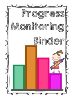 progress monitoring binder cover page by cannon s corner tpt