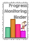 Progress Monitoring Binder Cover Page