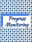 Progress Monitoring Binder Printables