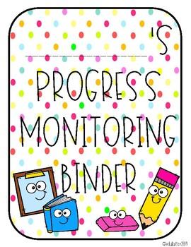 Progress Monitoring Binder for Special Education