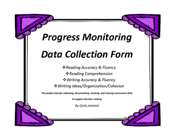 Progress Monitoring Data Collection Form