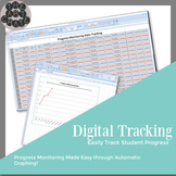 Progress Monitoring Tracking Sheets *Digital*
