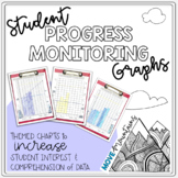 Progress Monitoring Forms; Themed Graphs for Student Self-
