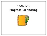 Progress Monitoring Forms for Reading