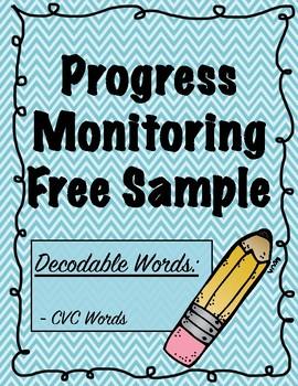 Progress Monitoring Freebie