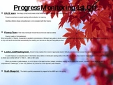Progress Monitoring Goal sheet