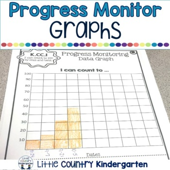 Progress Monitoring Tracking Sheets: Kindergarten Math Data Notebook K.CC.A.1