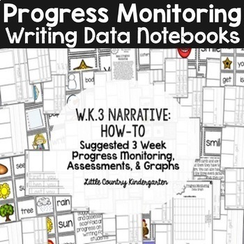 Progress Monitoring: Kindergarten Writing Data Notebook W.K.1, W.K.2, W.K.3