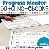 Progress Monitoring Tracking Sheets: Kindergarten Writing Data Notebook