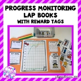 Progress Monitoring Lap Books for IEP goals with Reward Tags