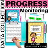 Data Collection Progress Monitoring Made Easy, IEP Goals,RTI, ELA & Math K-1
