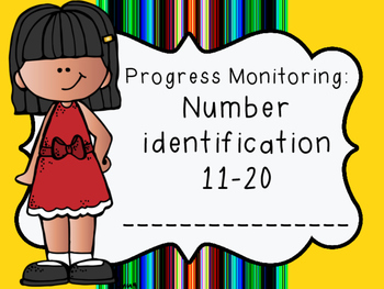 Progress Monitoring: Number Identification 11-20