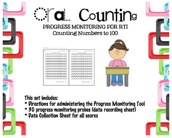 Progress Monitoring Oral Counting to 100 for RTI