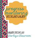 Progress Monitoring Recording Binder (Aztec Prints) | Spec