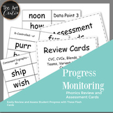 Progress Monitoring Review and Assessment Cards