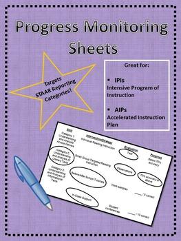 Progress Monitoring Sheets