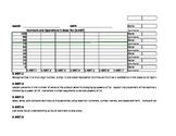 Progress Monitoring Sheets for 5.NBT