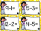 Progress Monitoring {Subtraction From 20 Edition} with Assessments/Activities