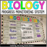 Progress Monitoring System and Benchmark Exams for Biology